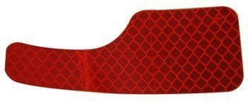 EZGO, Red Rear Reflector (Driver Side) (OEM)