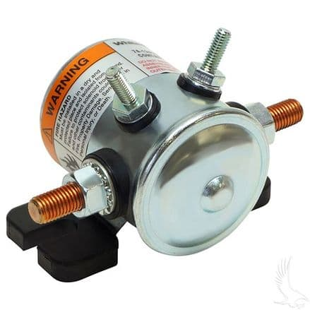 EZGO, Solenoid 36v, 4 terminal #70 series solenoid with copper contacts and short housing