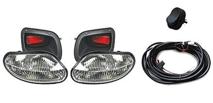 GTW Halogen Cut-In Headlight & Taillight Kit for EZGO 2013 - Up