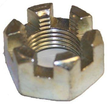 "Slotted Nut, BAG OF 10, Axle 5/8""-18, EZGO"
