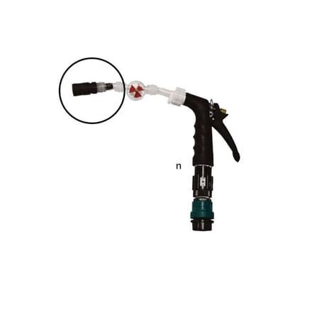 BATTERY FILLING SYSTEM FEMALE NOZZLE FOR WATERING GUN