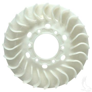 Fan Assembly, EZGO 4-cycle Gas, 295 & 350cc