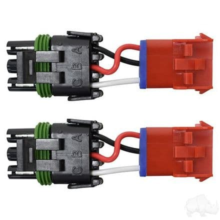 Retrofit Harness, RHOX LED tailligts to EZGO Incandescent taillights