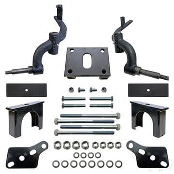 """RHOX Lift Kit, 3"""" Drop Spindle, Club Car DS Gas & Electric 09+"""