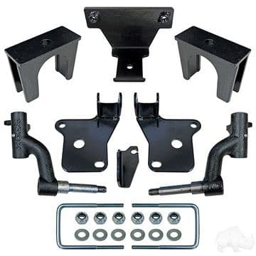"RHOX Lift Kit, 3"" Drop Spindle, EZGO RXV Gas 08-Feb 13"