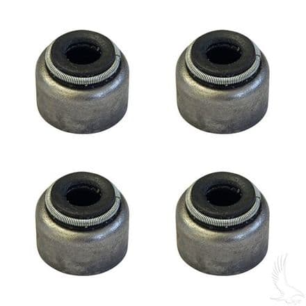 Seal, PACK of 4, Valve Stem for Intake Valve, Yamaha G2-G22 Gas