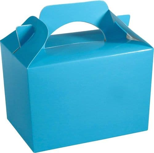 100 Baby Blue Party Food Boxes Wholesale