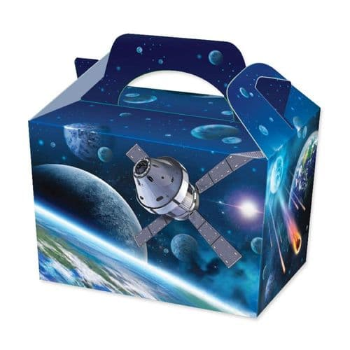 100 Deep Space Party Food Boxes Wholesale