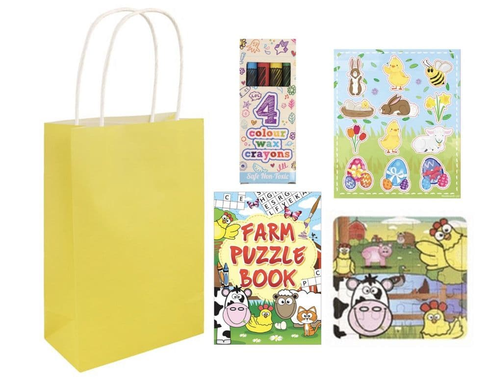 15 Easter Pre Filled Gift Bags - Wholesale (YC)