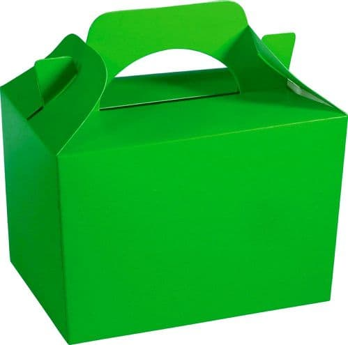 Neon Green Food Box