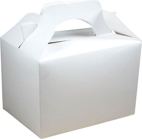 White Party Food Box