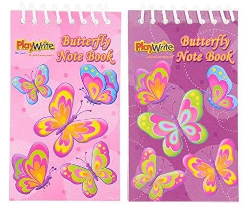 Butterfly Notebook Party Bag Toys