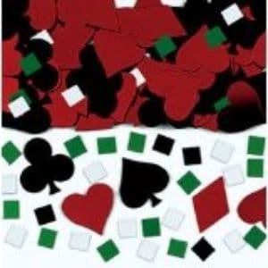 Casino Party Confetti Table Decorations Themed Party Sprinkles