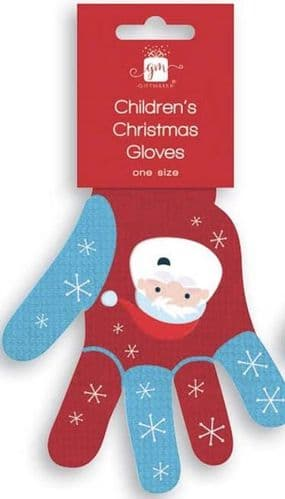 Christmas Childrens Gloves (one size)