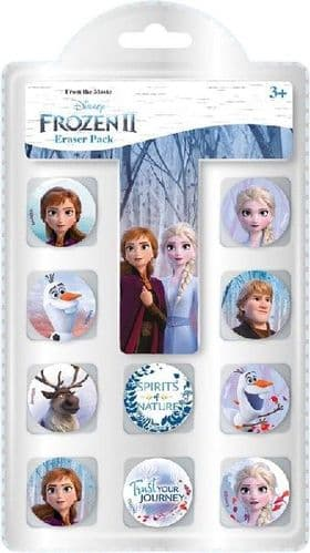 Disney 2 Frozen Eraser Pack