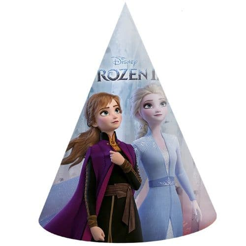 Disney Frozen 2 Paper Party Hats (Pack of 6)