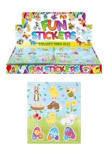Easter Sticker Sheets Wholesale 1 Box of 120