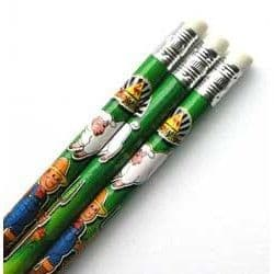 Farm Pencil with Eraser Party Bag Toys Fillers