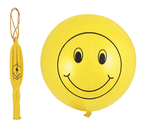 Happy Face Punch Ball Balloon