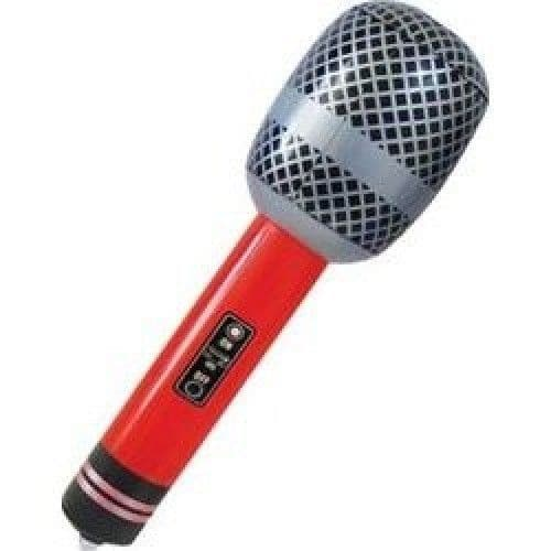Inflatable Party Toy - Microphone