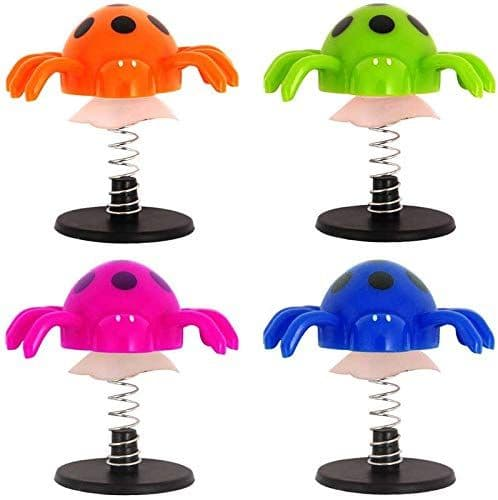 Jump Up Spider Pocket Money Toys