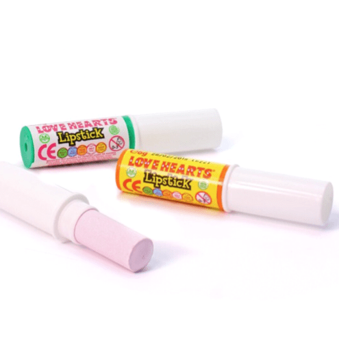 Love Hearts Lipstick (V) Party Bag Sweets