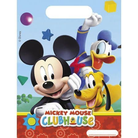 Mickey Mouse Disney Loot Party Bag