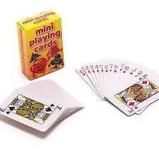 Mini Playing Cards Party Bag Toys