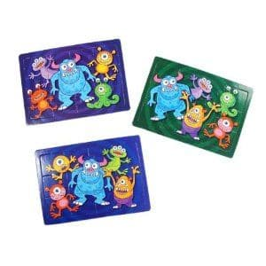 Monster Jigsaw Puzzle Party Bag Toys