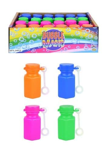 Party Bubbles with Wands 24pk Wholesale (N)