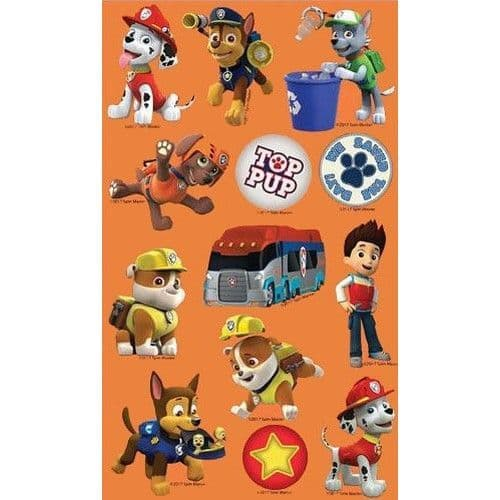 Paw Patrol Sticker Sheet Party Bag Toys (1)