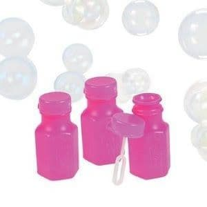Pink Bubbles Mini With Wand