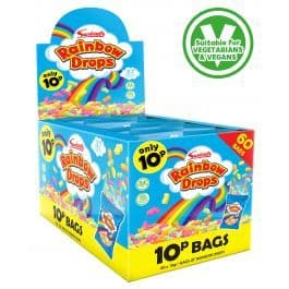 Rainbow Drops (V) Retro Sweets 1 Box of 60