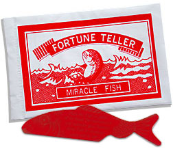 Retro Fortune Teller Fish Party Bag Toys Fillers - Wedding Favours