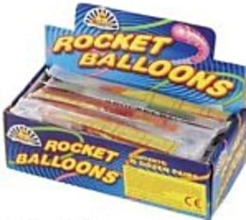 Rocket Balloons (Pack of 72) Party Bag Toys Wholesale