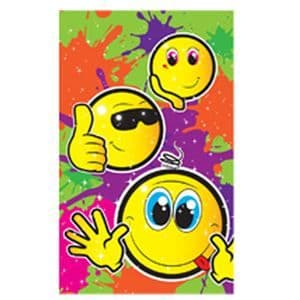 Smiley Face Notebook Party Bag Toys