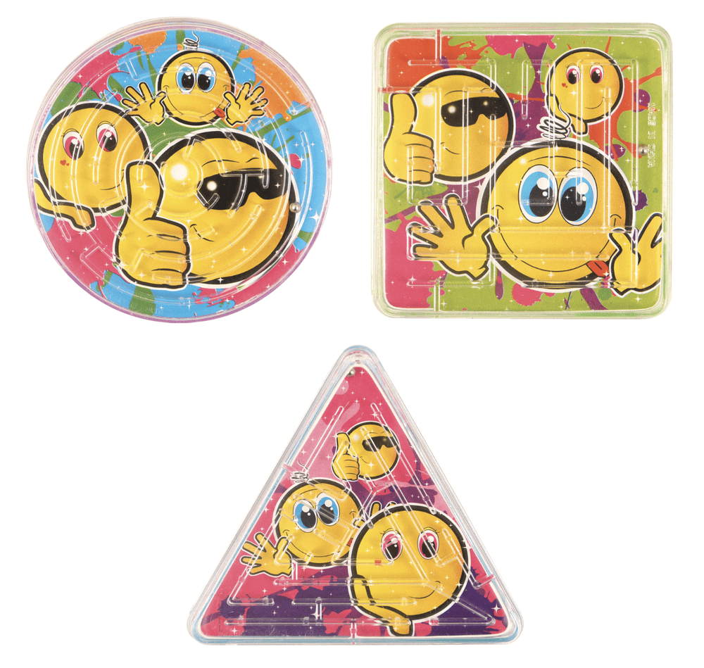Smiley Maze Puzzles Party Bag Toys