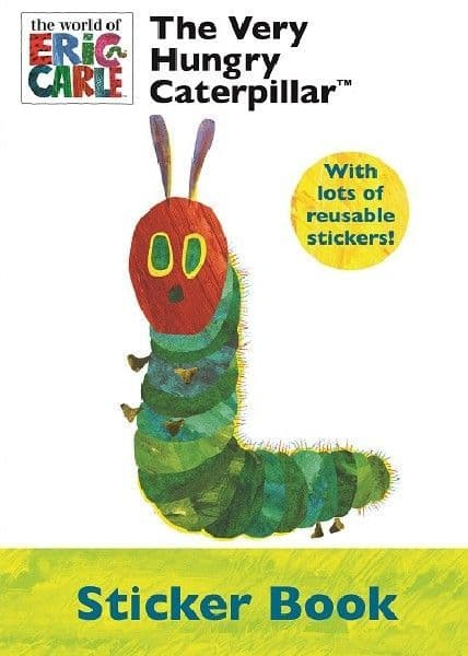 The Very Hungry Caterpillar Sticker Activity Book