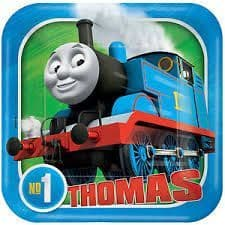 Thomas The Tank Paper Plates (8 Pack) 7in