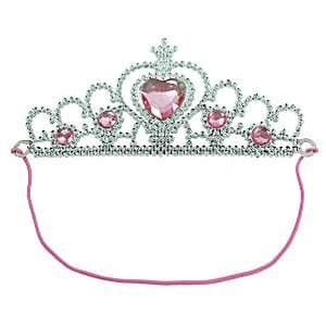 Tiara Silver Pink Jewel Party Bag Toys