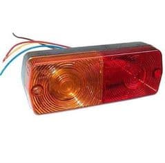 12V TAPERED REAR MARK -ER LAMP PAIR PART NO: 1759