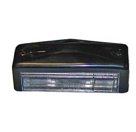 BLACK NUMBER PLATE LAMP PART NO: 4233