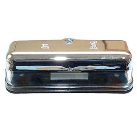 CHROME NUMBER PLATE LAMP PART NO: 4234