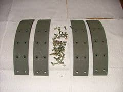 FORDSON DEXTA BRAKE LININGS - NO 1020