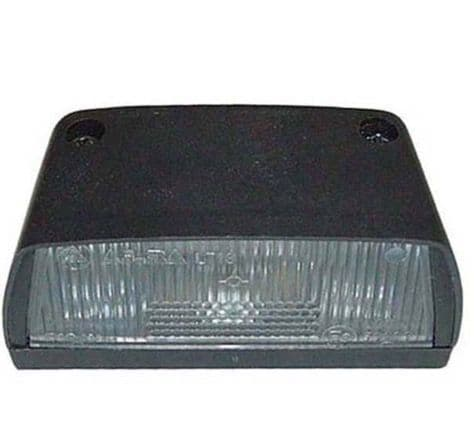 LICENCE PLATE LAMP  (87MM) PART NO: 4846