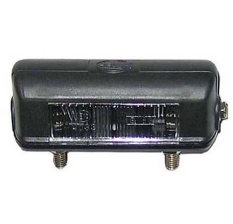LICENSE PLATE LAMP (112MM) PART NO: 4844