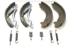 TRAILER BRAKE SHOES 200 X 50 - 8 INCH - TO FIT IFOR WILLIAMS AND SIMULAR