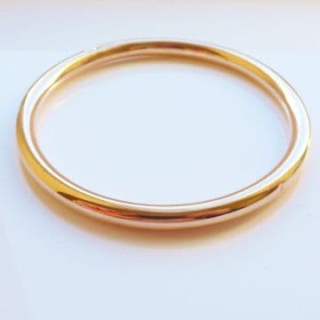SOLD ANTIQUE ART DECO 9CT ROSE GOLD SLAVE BANGLE UPPER ARM HALLMARKED BIRMINGHAM 1920