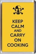 KEEP CALM and CARRY ON COOKING from the Breaking Bad TV Series Unique Fridge Magnet