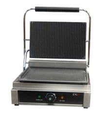 "Out of stock until 27/01/17 Commercial Quality Single Contact Panini Grill with a 12 month commercial ""on site"" Replacement Warranty"